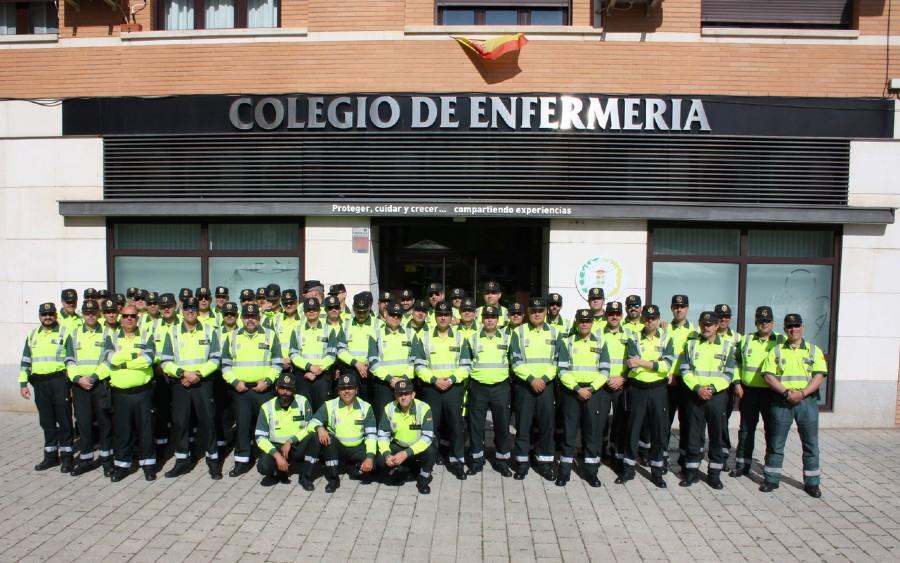 El Colegio de Enfermería de Ciudad Real volverá a formar a los guardias civiles de tráfico en primeros auxilios