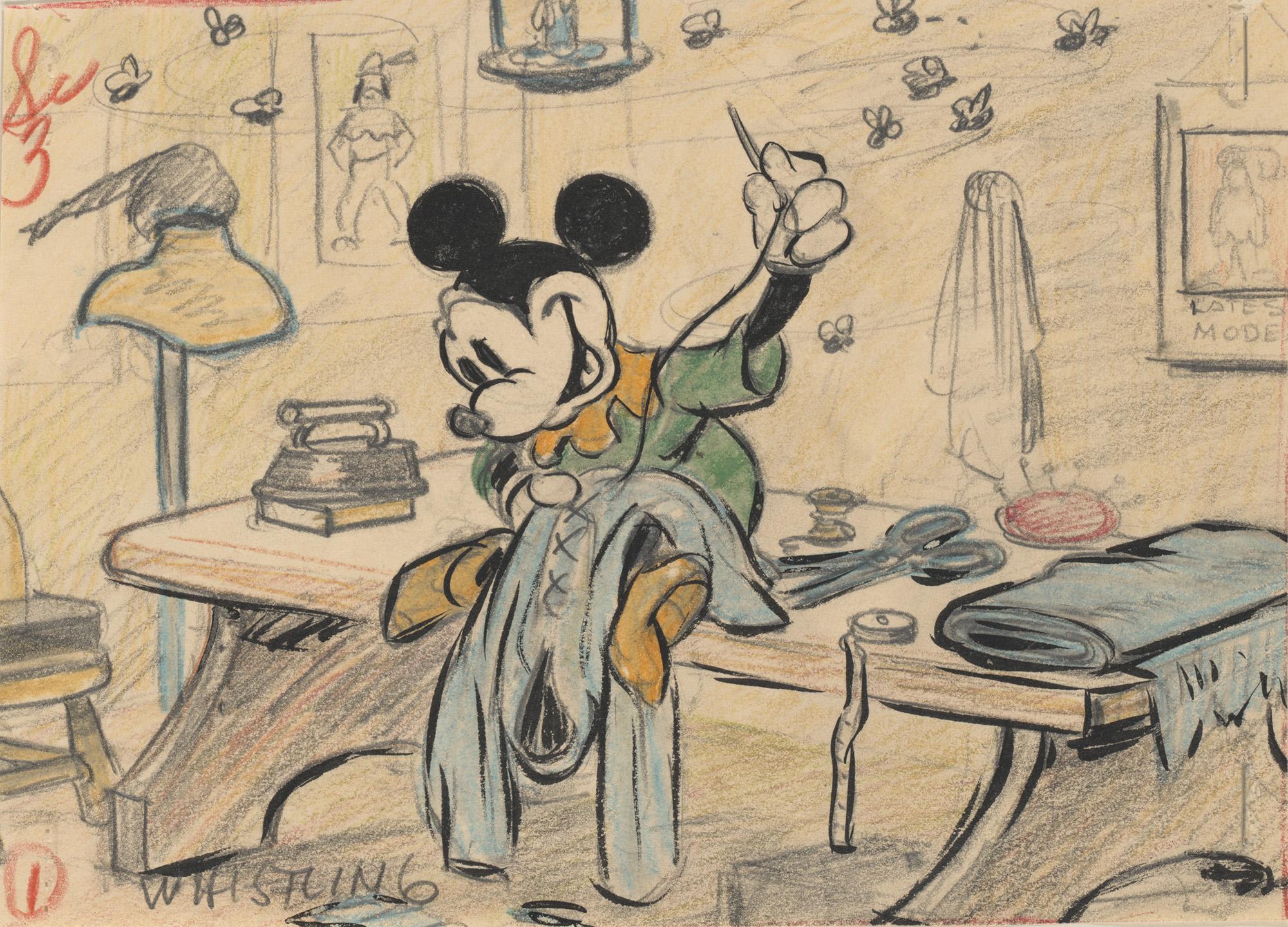 La fantasía de Disney en las paredes del CaixaForum