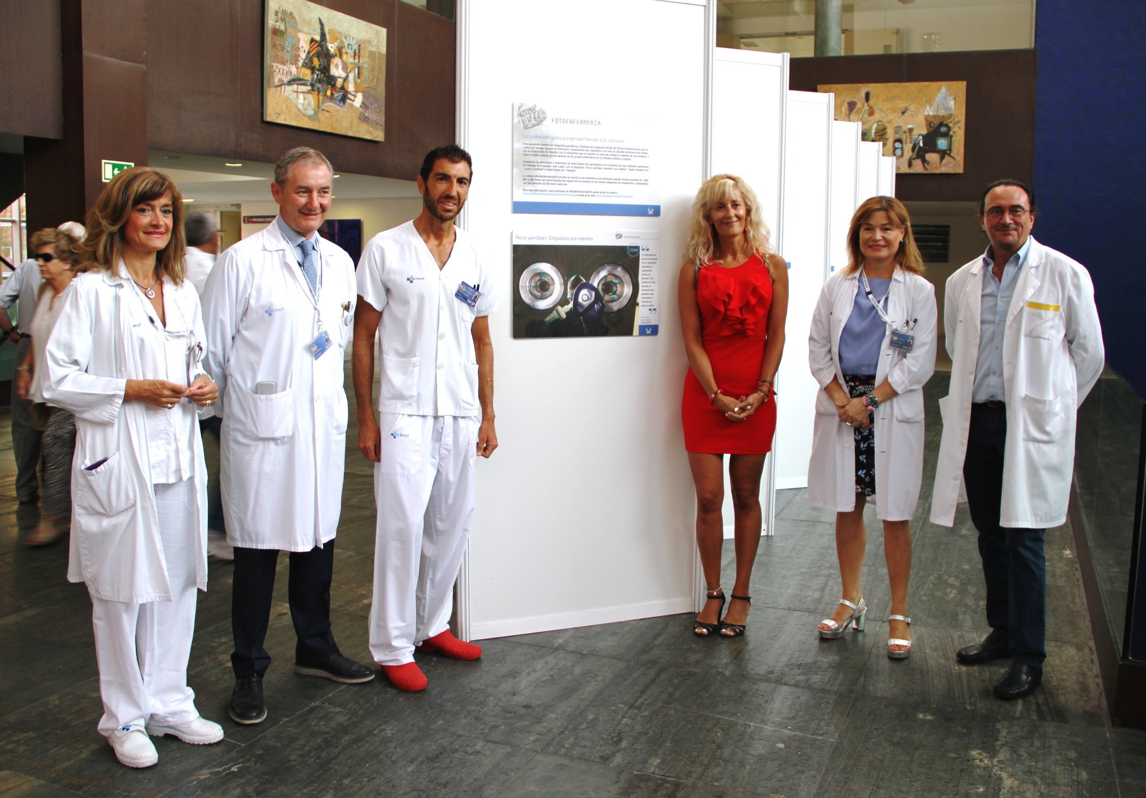 La exposición FotoEnfermería llega a Valladolid