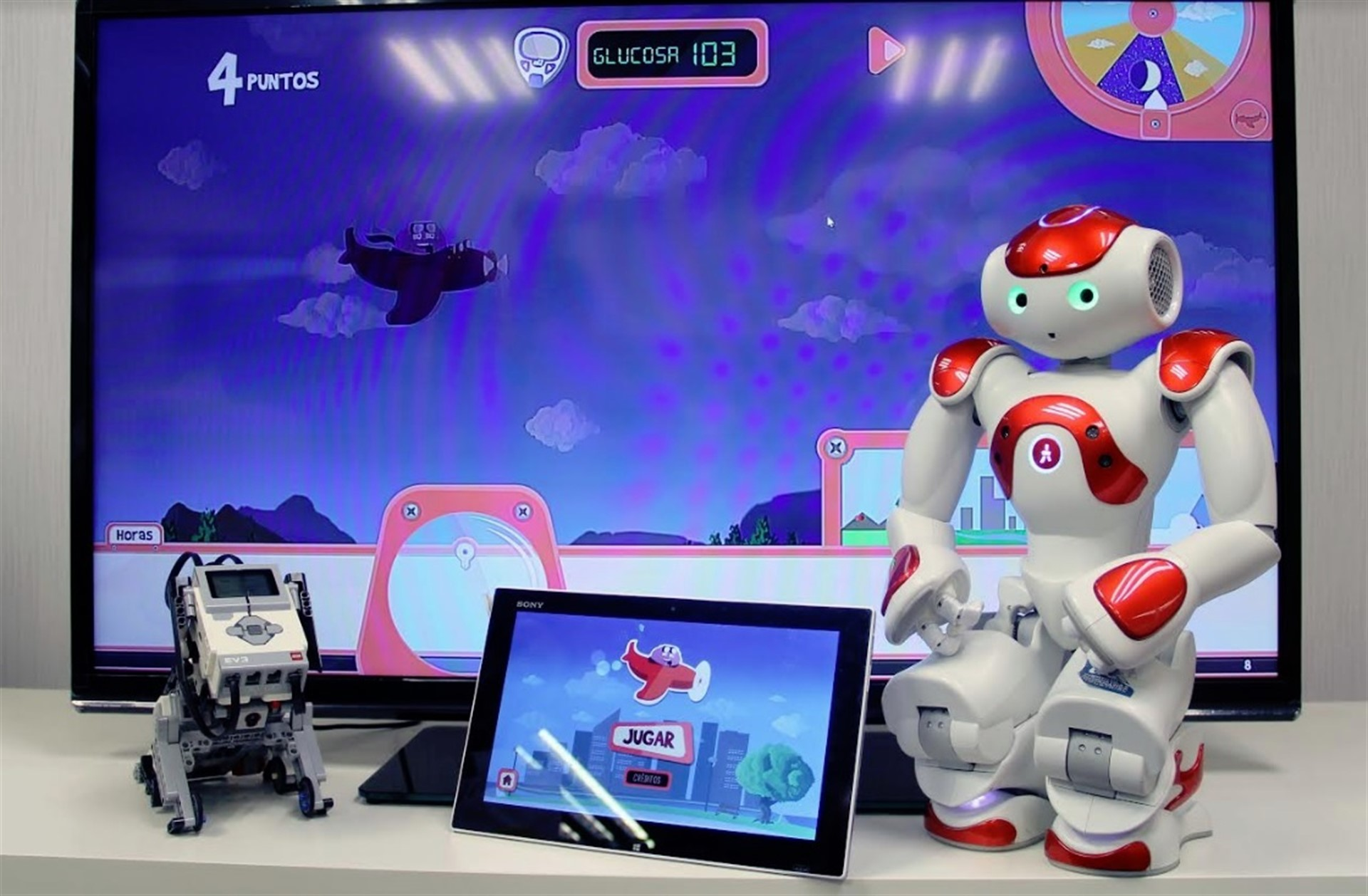 Videojuegos enseñan a los niños a convivir con la diabetes