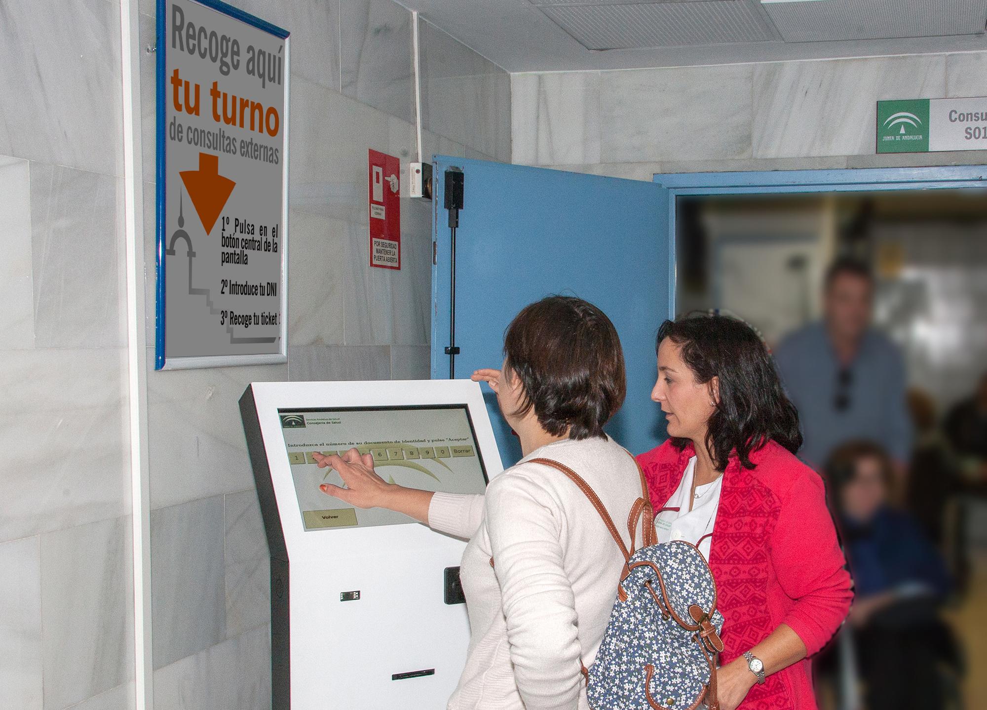 Desarrollan un plan para instalar dispositivos digitales de aviso a pacientes