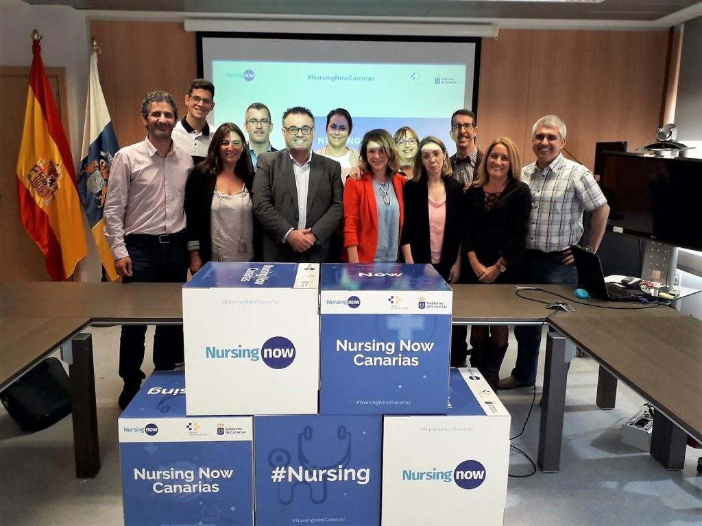 Canarias constituye el grupo autonómico de Enfermería Nursing Now Canarias