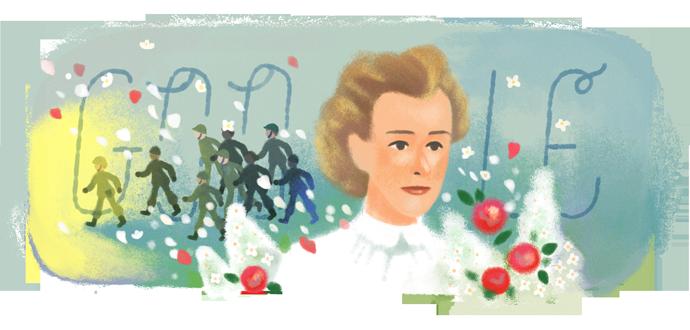 La valentía de la enfermera Edith Cavell, protagonista del doodle de hoy