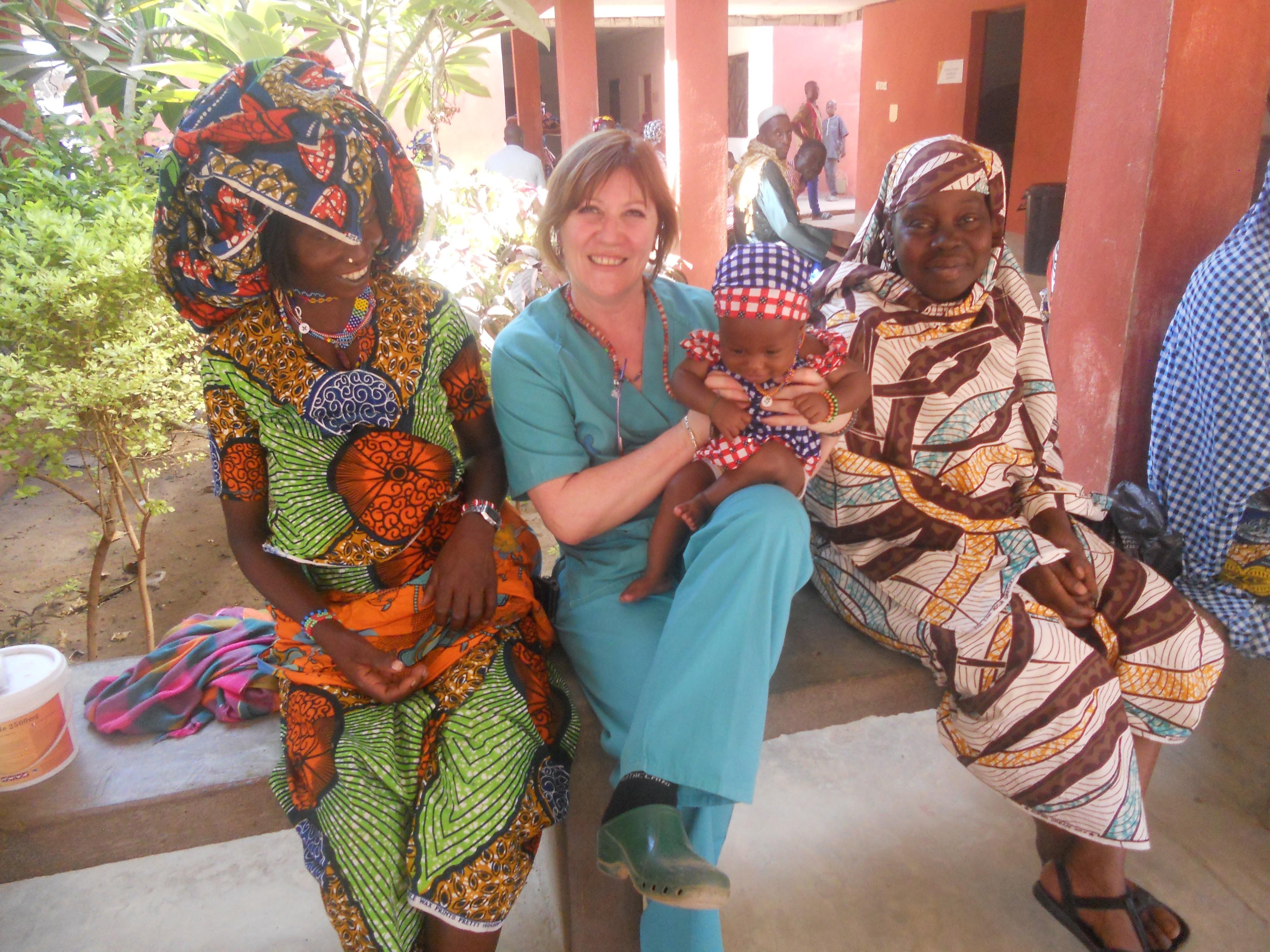 Color fundiéndose con sus vidas, Marian de la Cruz