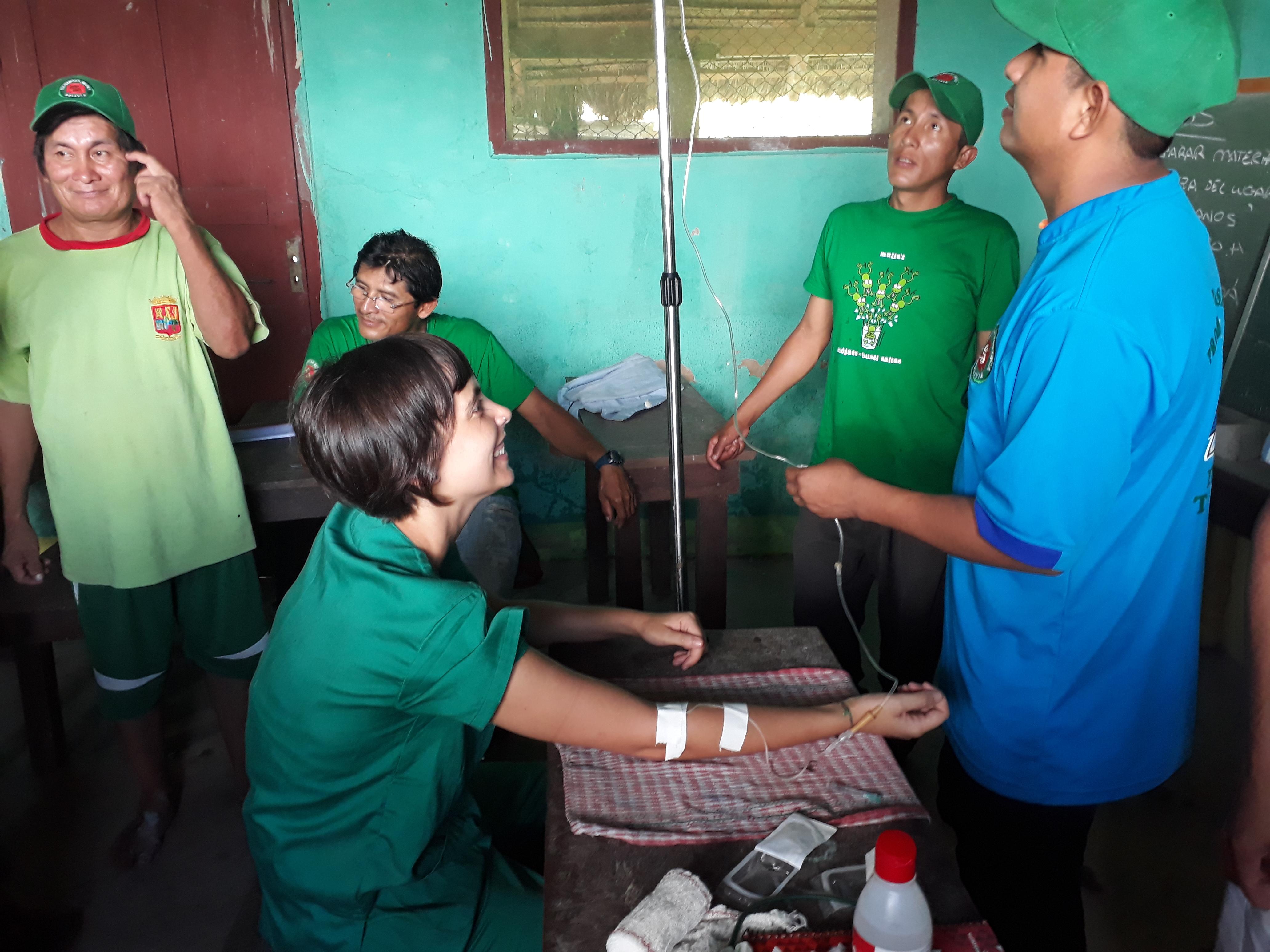 Curso de promotores de Salud en la Amazonía Boliviana, Cristina Ramos
