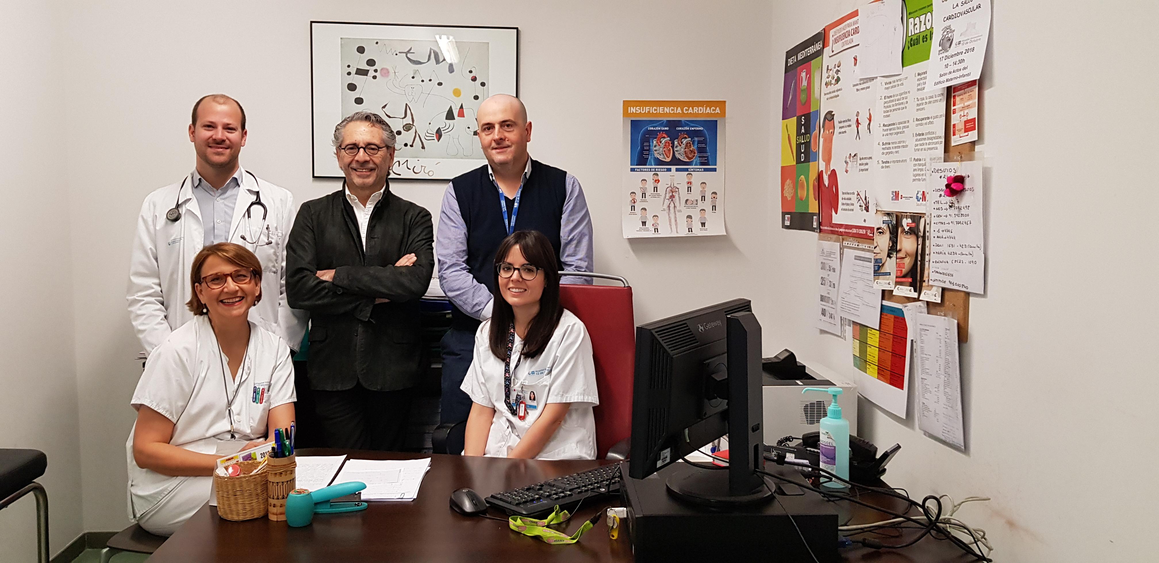 El Hospital 12 de Octubre prueba con éxito una nueva herramienta que predice el deterioro de un paciente con insuficiencia cardíaca un mes antes de ocurrir