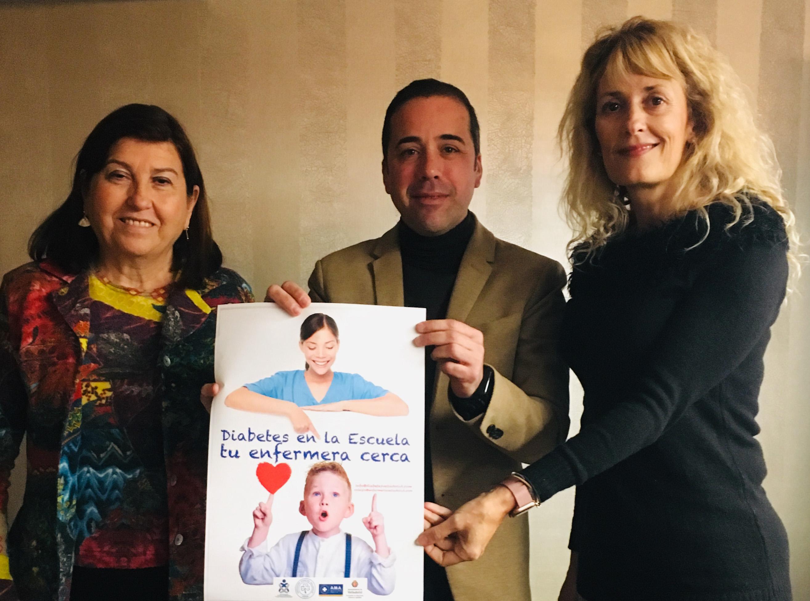 El Colegio de Enfermería de Valladolid trabaja para impulsar la educación en diabetes