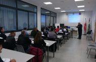 El Colegio de Enfermería de Almería colabora con la Policía Local en un curso de salud mental