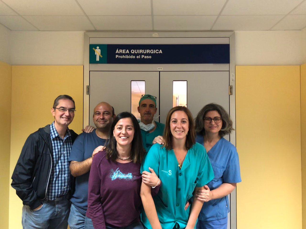 Enfermeros de quirófano crean una guía virtual para compartir técnicas en tiempo real