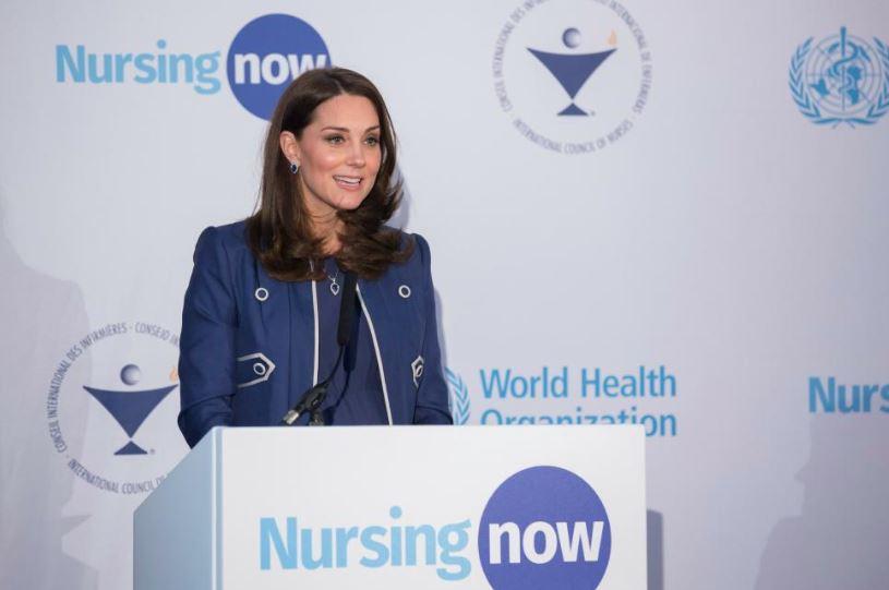"""Kate Middleton, en el primer aniversario de Nursing Now: """"las enfermeras tienen un papel primordial en los equipos sanitarios de todo el mundo"""""""