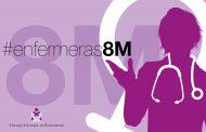 Ocho enfermeras protagonizan la campaña #enfermeras8M contra el machismo hacia la profesión