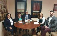 Las enfermeras de Almería se reúnen con el delegado de Salud para abordar las necesidades de la profesión