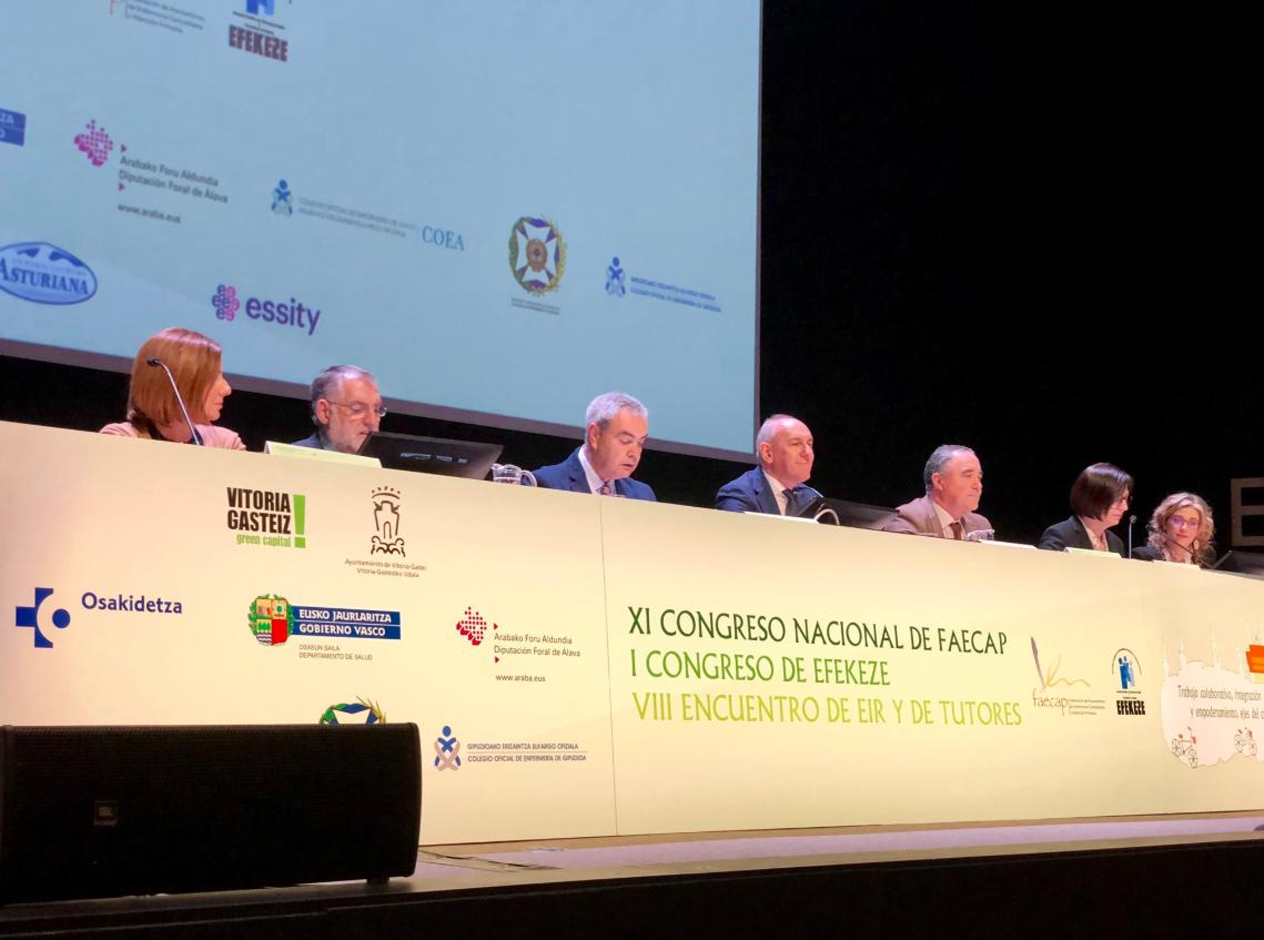 El trabajo colaborativo, eje del congreso de FAECAP en Vitoria