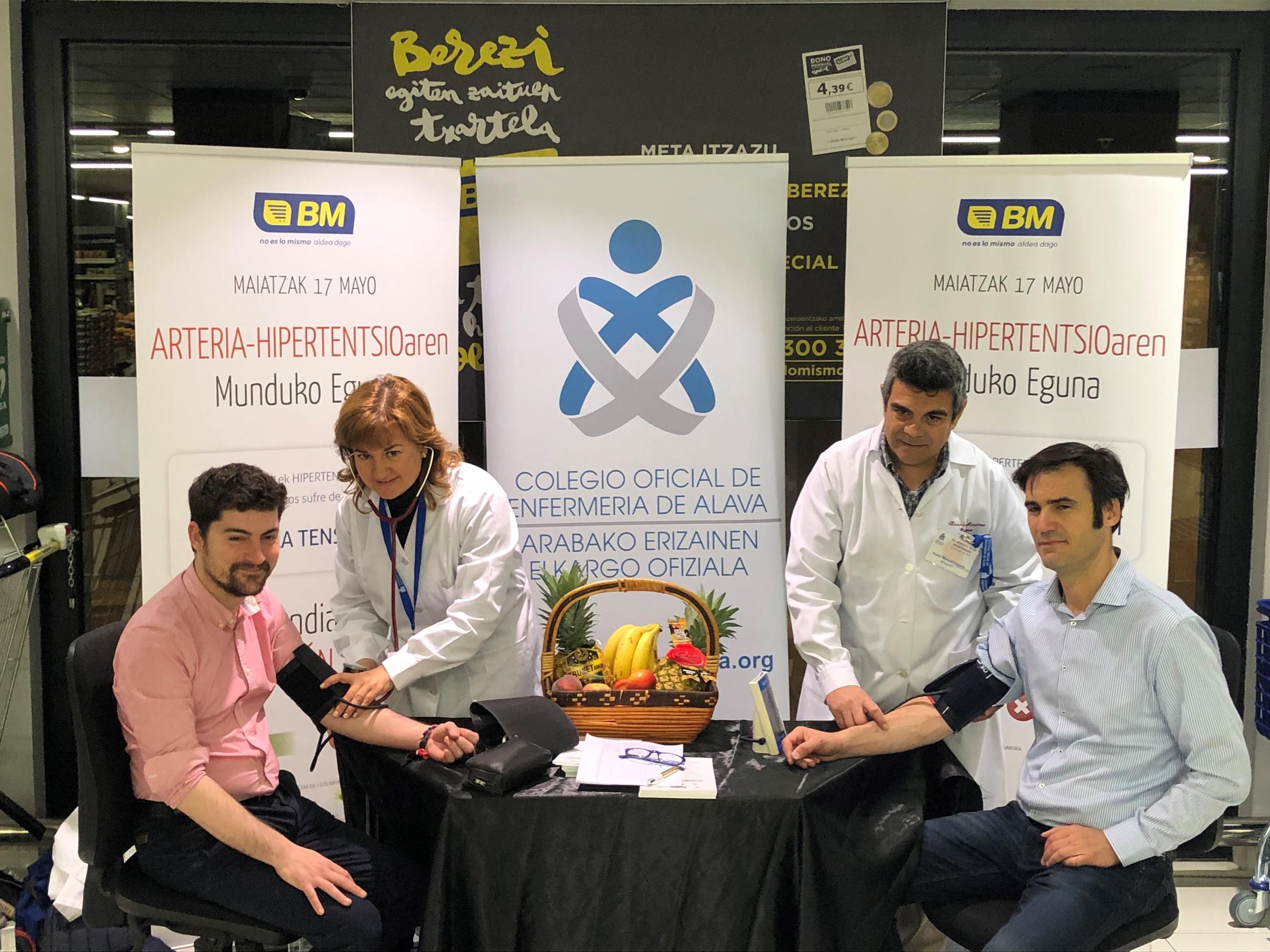 Los colegios de Álava y Guipúzcoa se suman a BM Supermercados para cuidar la tensión arterial de la ciudadanía