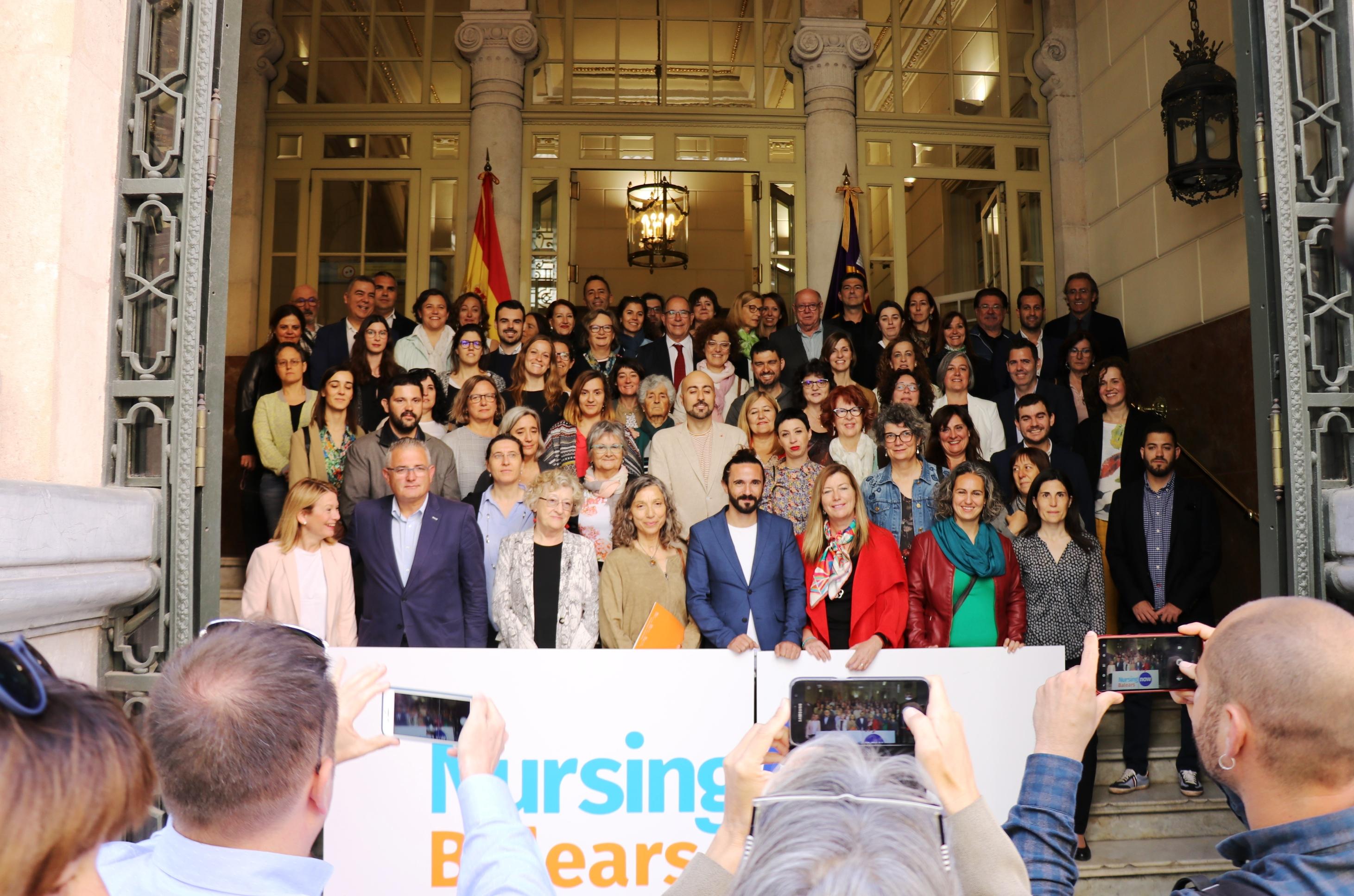 Nursing Now Baleares se presenta en el Parlamento regional