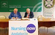El Consejo Andaluz de Enfermería y la Consejería de Salud y Familias instauran Nursing Now Andalucía