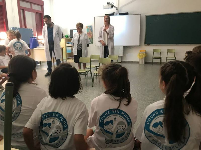 Cuatro enfermeras llevan la campaña