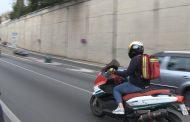 Las motos enfermeras toman Barcelona