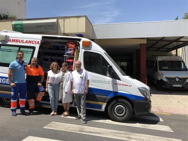 Enfermeras expertas en Urgencias y Emergencias de Jaén implantan un sistema piloto de práctica avanzada móvil