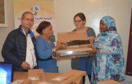 Enfermeras Para el Mundo dota de ordenadores a las asociaciones de mujeres en Souss (Marruecos) para el registro de víctimas de violencia