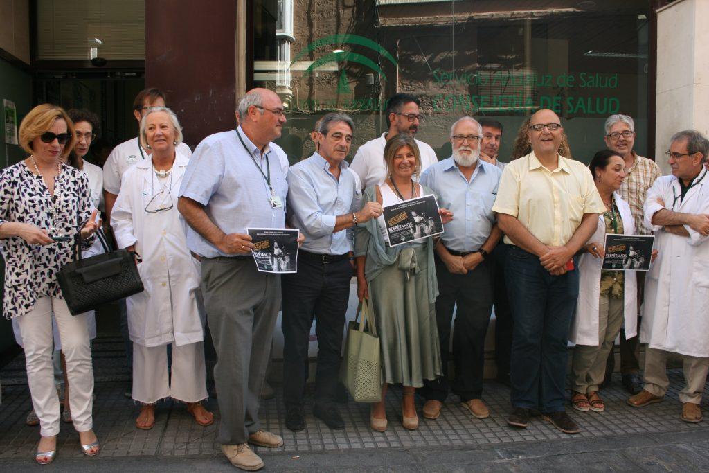 Enfermeros y médicos de la provincia de Cádiz estallan contra las agresiones a sanitarios