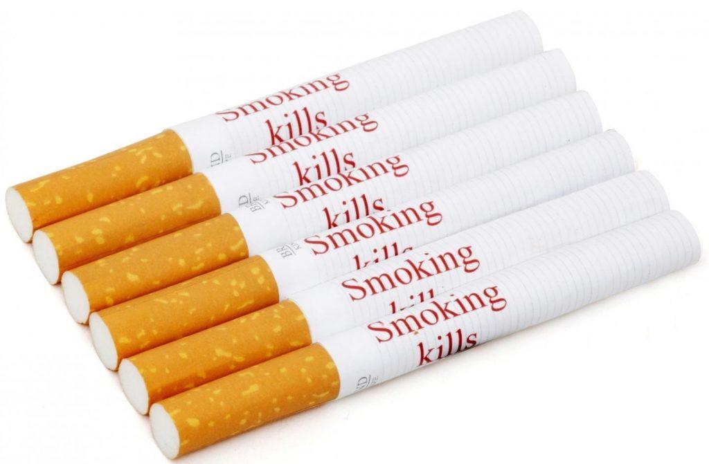 Las advertencias sanitarias impresas en cigarrillos individuales podrían reducir el tabaquismo