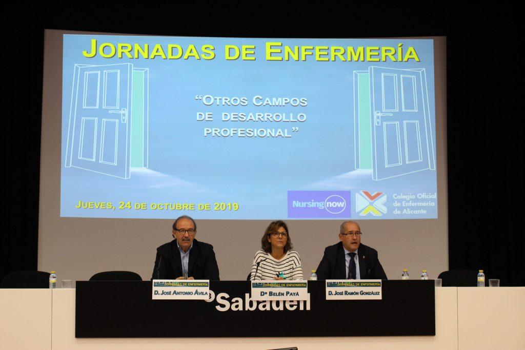 El Colegio de Enfermería de Alicante acerca a las enfermeras a las salidas laborales menos conocidas para la profesión