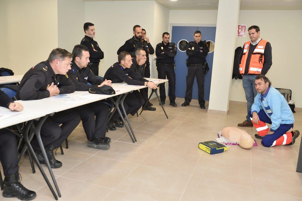 2019-11-29 Enfermeria Jaén_Curso RCP Policia