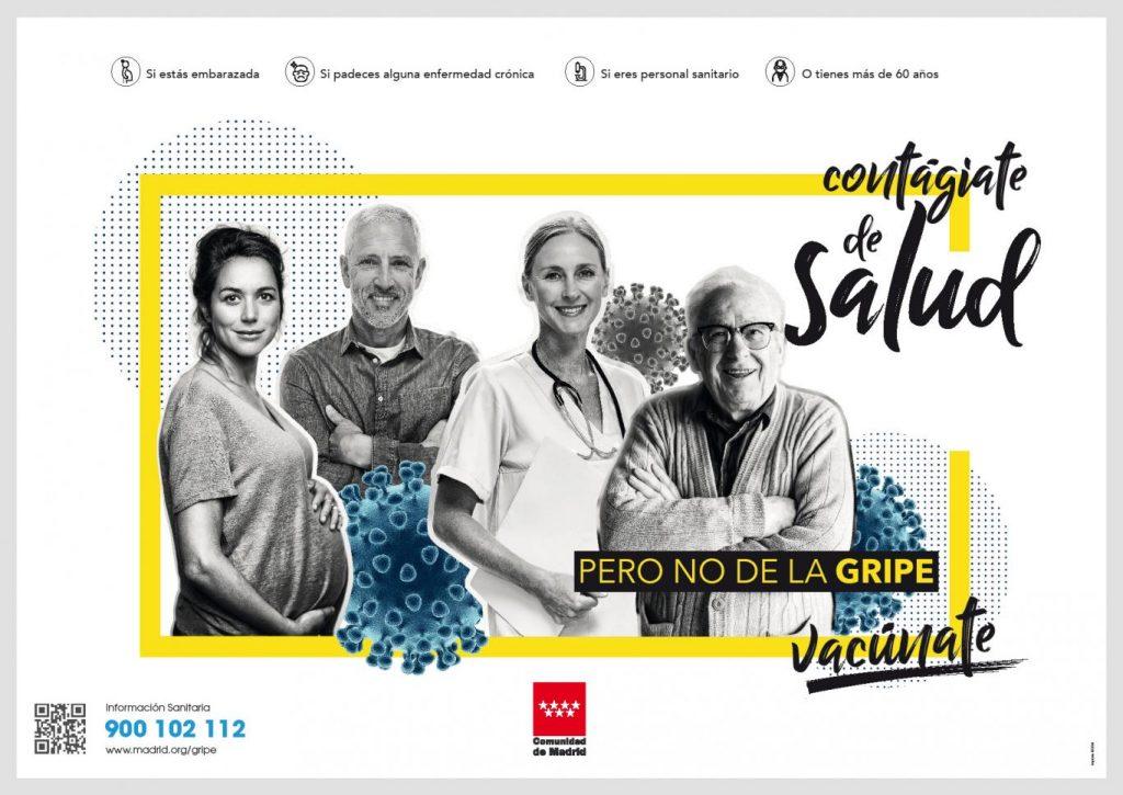 Madrid premiará a los hospitales y centros de salud con mayor número de sanitarios vacunados de la gripe
