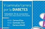 El Colegio de Enfermeras de Valladolid dará consejos de salud en la V carrera por la diabetes