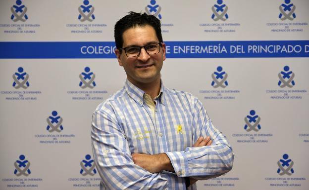 Esteban Gómez, nuevo presidente del Colegio de Enfermería de Asturias