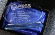 La AESS reconoce al Consejo General de Enfermería por visibilizar el Síndrome de Sotos