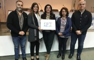 La ONCE celebra el centenario del Colegio de Enfermería de Cáceres en uno de sus cupones