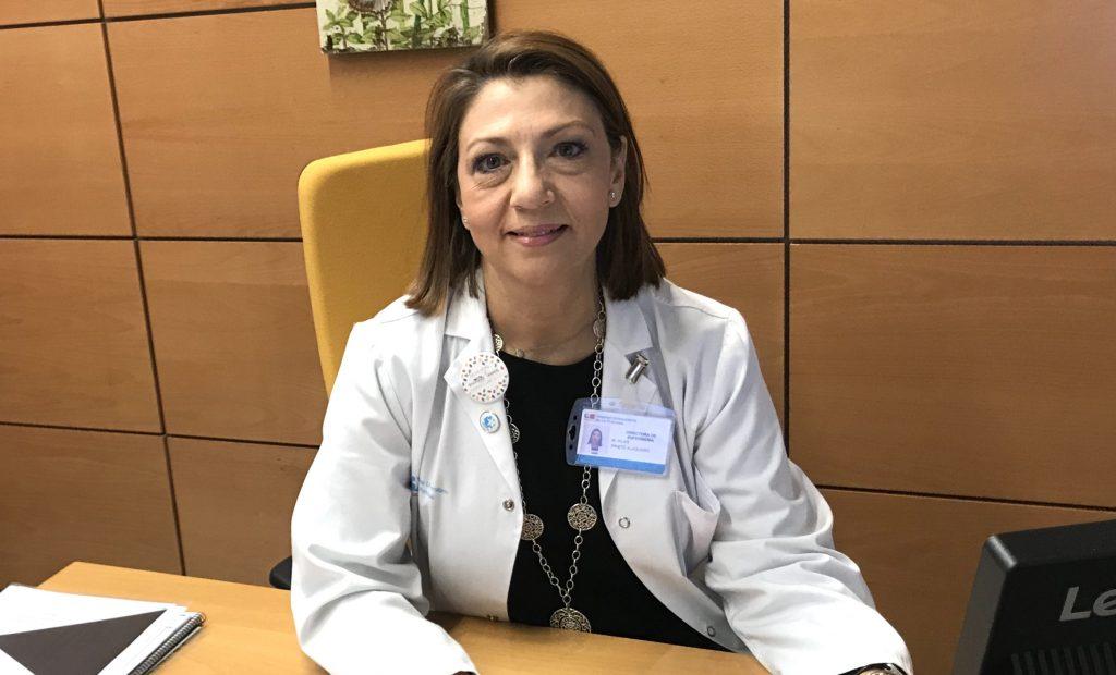 """M.ª Pilar Prieto, directora de Enfermería de La Princesa (Madrid): """"Somos un edificio viejo con una organización moderna"""""""