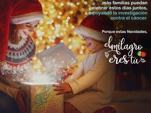 #ElMilagroEresTú, una campaña navideña que conciencia sobre la lucha contra el cáncer