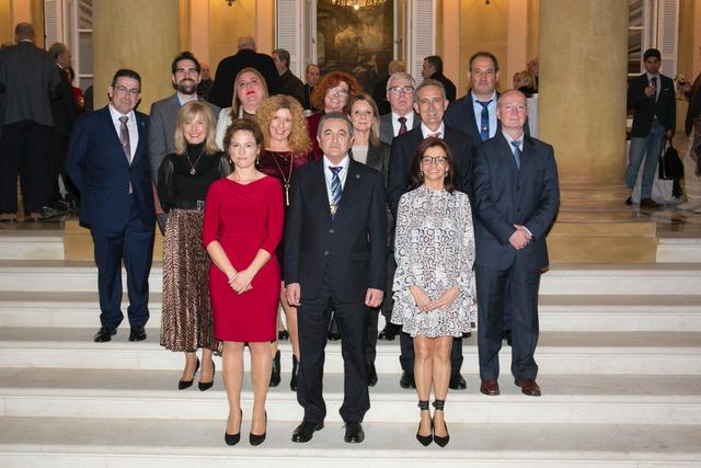La nueva junta de gobierno del Colegio de Enfermería de Málaga toma posesión de sus cargos