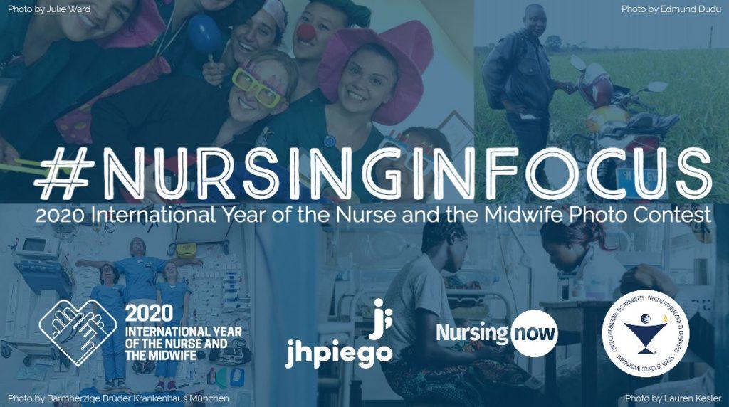 Nursing Now lanza un concurso fotográfico para mostrar el papel de las enfermeras en el mundo