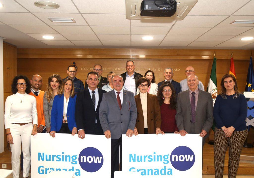 Granada reivindica el papel de las enfermeras con su grupo Nursing Now