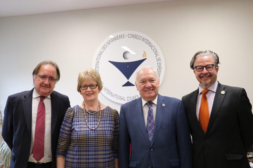 El CIE y el CGE se comprometen a elaborar acciones en favor de los pacientes y el desarrollo de la profesión