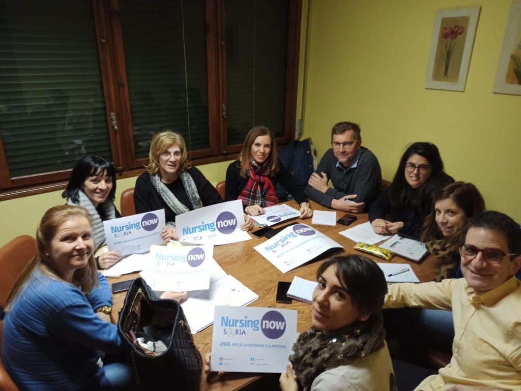 El Colegio de Enfermería de Soria se une a la campaña Nursing Now para visibilizar la profesión