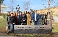 Coria (Cáceres) inaugura el parque dedicado a enfermeras y matronas