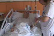 Formación enfermera para reducir a cero las caídas de pacientes en hospital