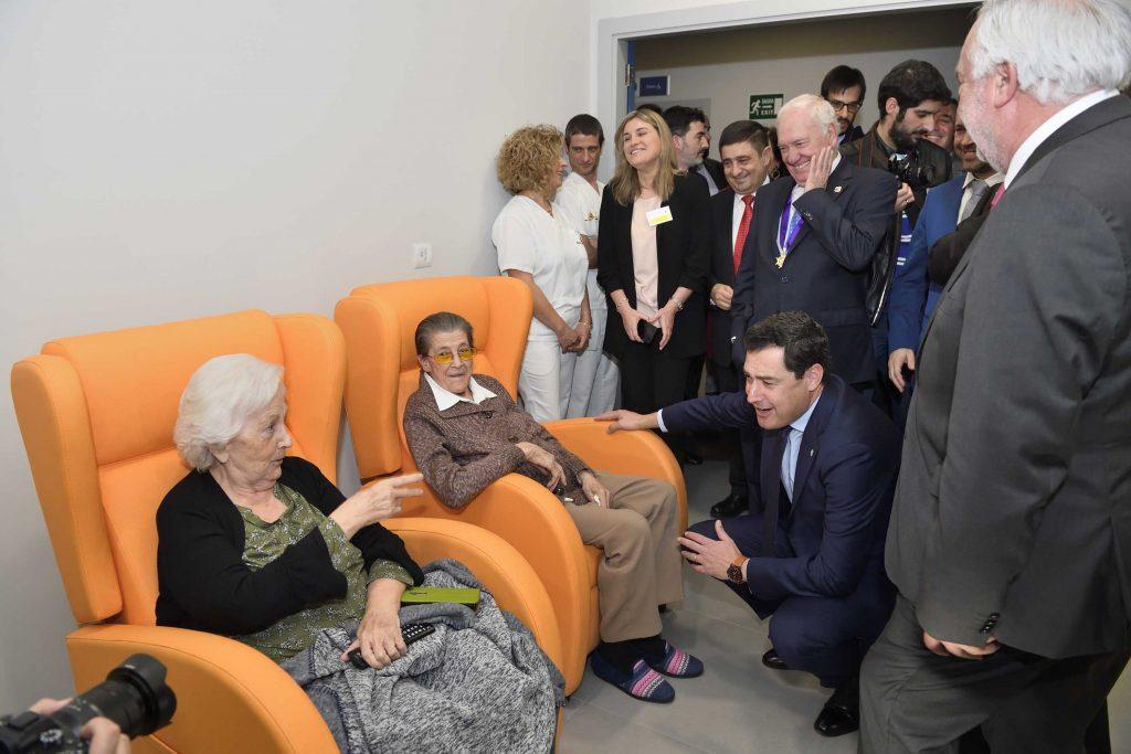 El Colegio de Enfermería de Jaén inaugura su nueva Residencia de Mayores