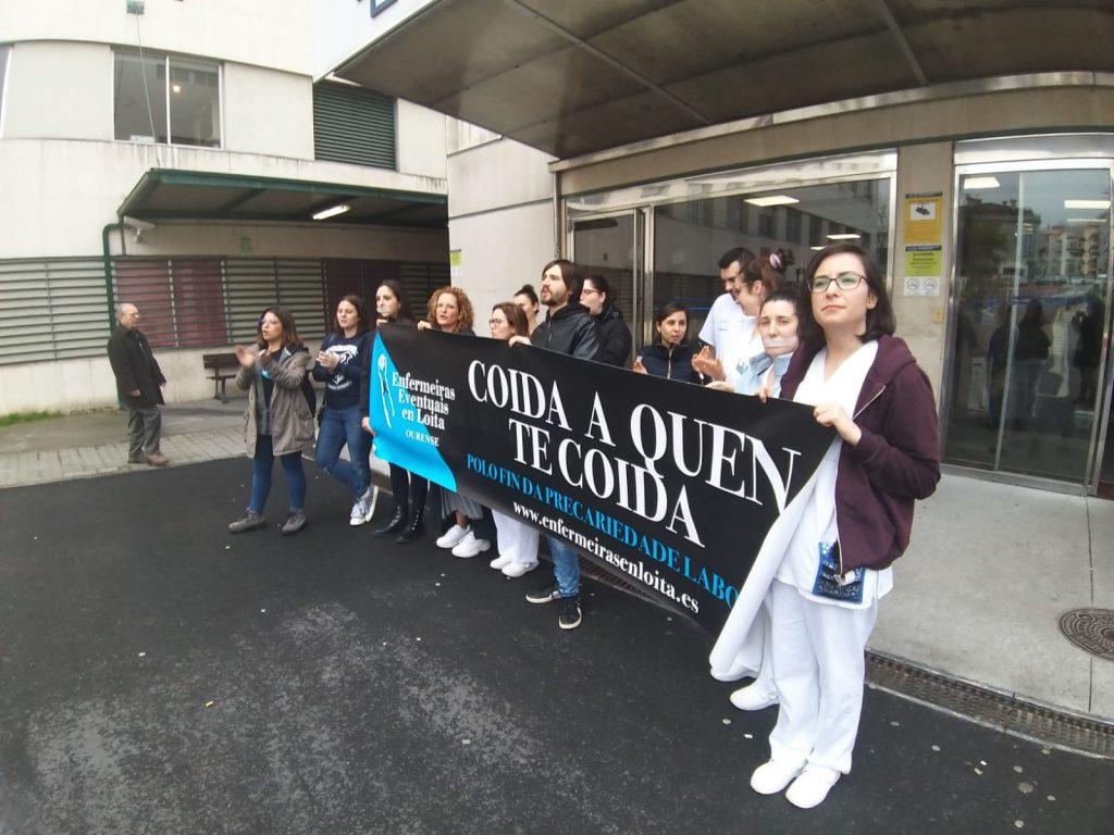 Enfermeras gallegas alzan la voz por los profesionales que han tenido que emigrar