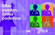 El Consejo General de Enfermería muestra en el 8M cómo las enfermeras pueden ser líderes