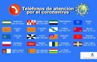 Las CC.AA. hacen un llamamiento para no saturar el 112 por el coronavirus y habilitan otros teléfonos