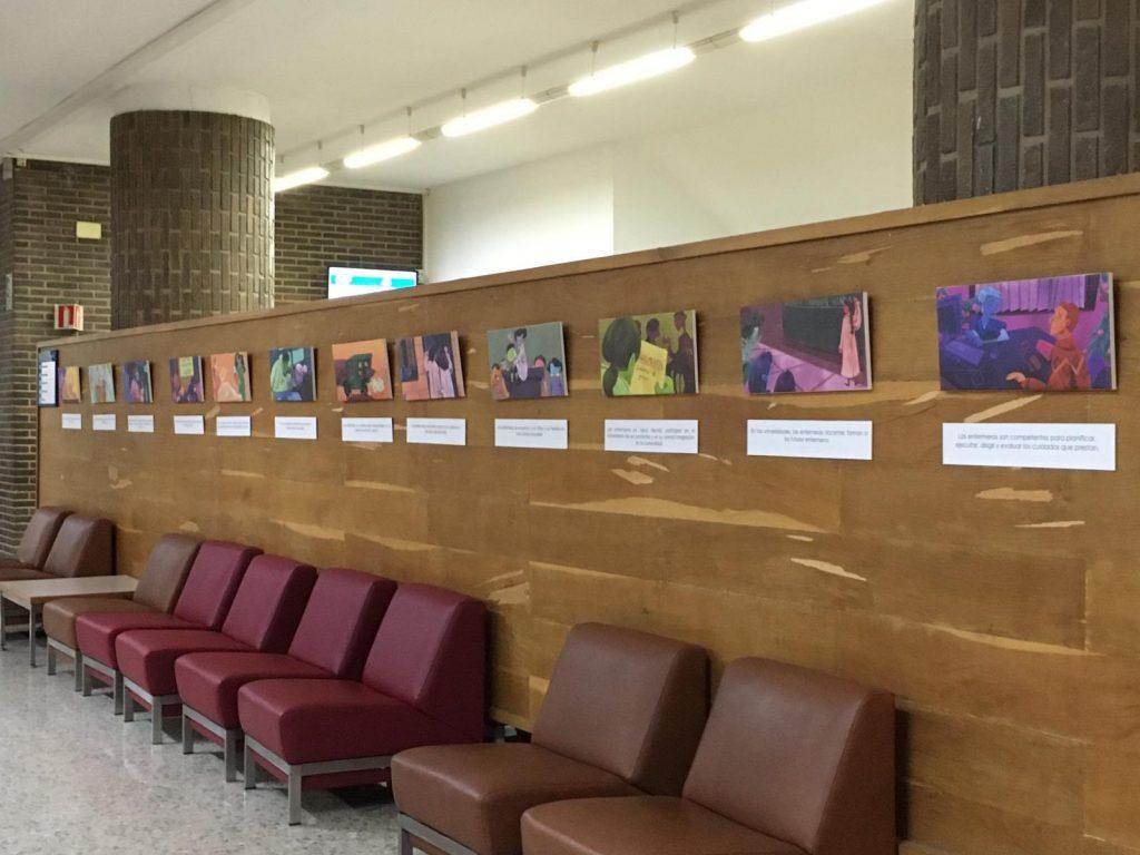 """El Colegio de Enfermería de Albacete inaugura la exposición """"Enfermeras: Ayer y Hoy"""""""