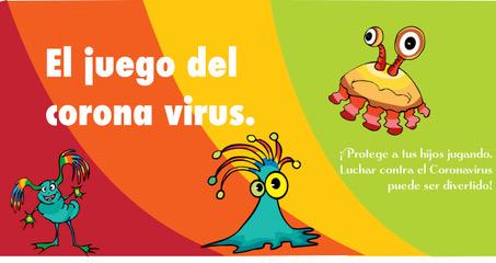 Un enfermero previene el coronavirus en niños a través del juego