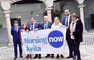 La Diputación de Ávila muestra su apoyo a la iniciativa Nursing Now
