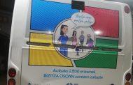 Los autobuses de Vitoria lucen la campaña #NursingNow